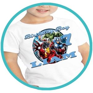 Other - The Avengers Birthday Shirt Shirts Tshirt T-shirt